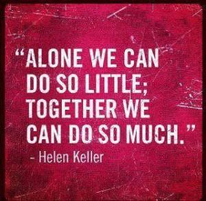 Helen Keller promotes Unity